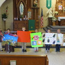 Kindergarten's Catholic Schools Week Project photo album thumbnail 8